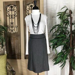 H&M  grey and black skirt